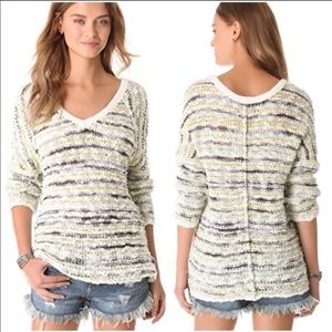 Free People Songbird Marled Oversized Sweater